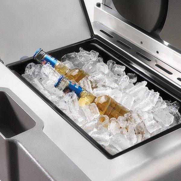 Газовый гриль NНаполеон LEX-605 емкость для льда