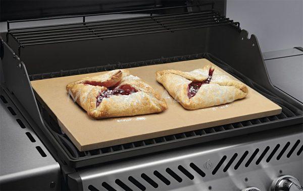 Камень для приготовления пиццы прямоугольный Наполеон использование 1