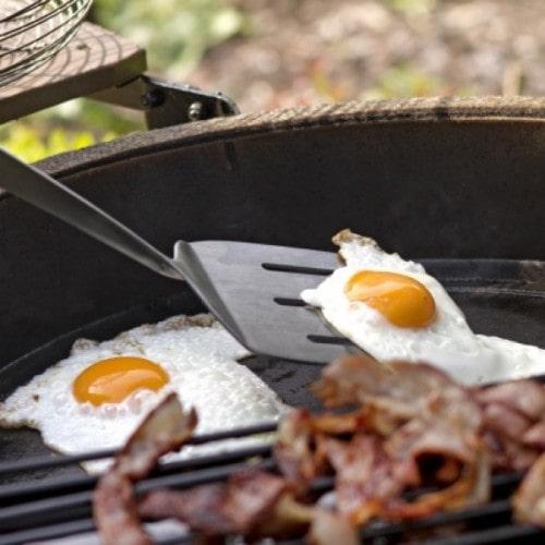 Лопатка BBQ для гриля, нерж.сталь 116888 Большое Зеленое Яйцо 1