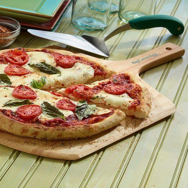 Лопатка сервировочная для пиццы ,нерж.сталь ручка зелёная Большое Зеленое Яйцо 1