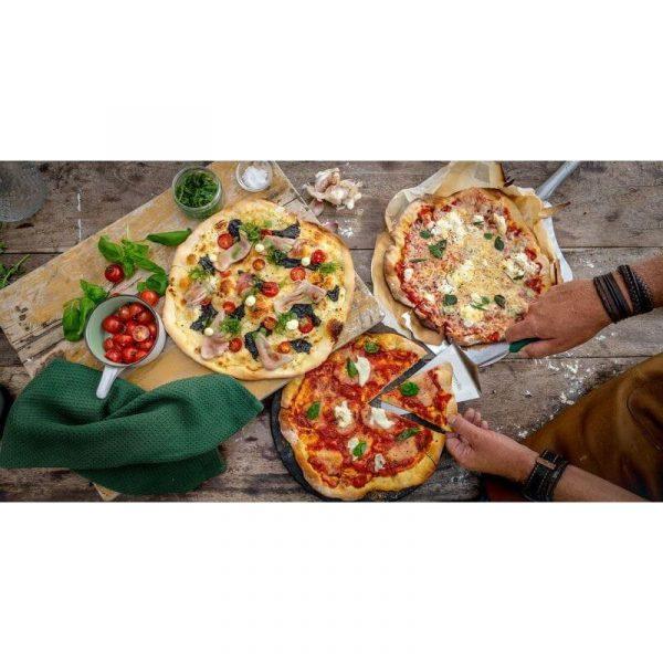 Лопатка сервировочная для пиццы ,нерж.сталь ручка зелёная Большое Зеленое Яйцо 2