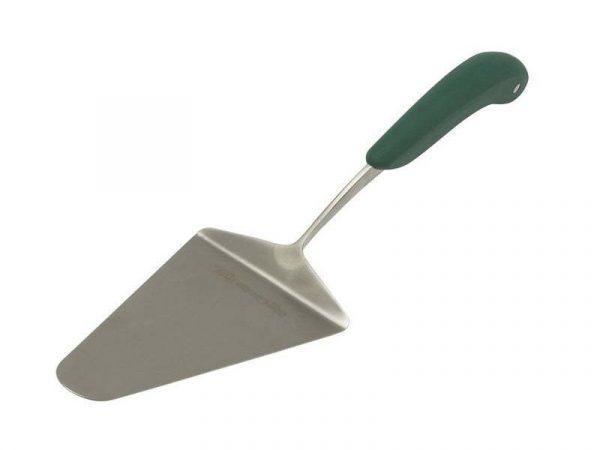 Лопатка сервировочная для пиццы ,нерж.сталь ручка зелёная Большое Зеленое Яйцо