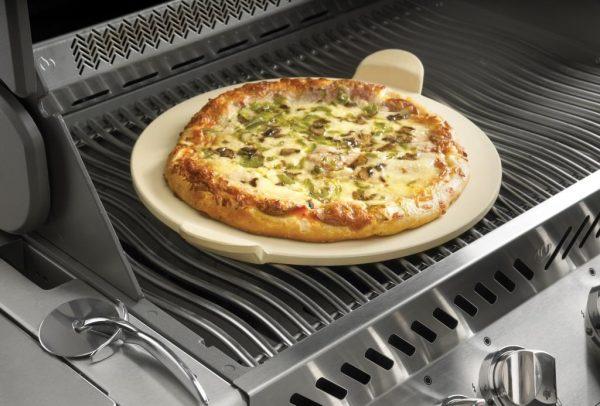 Набор для приготовления пиццы PRO: камень, нож-колесо Наполеон использование