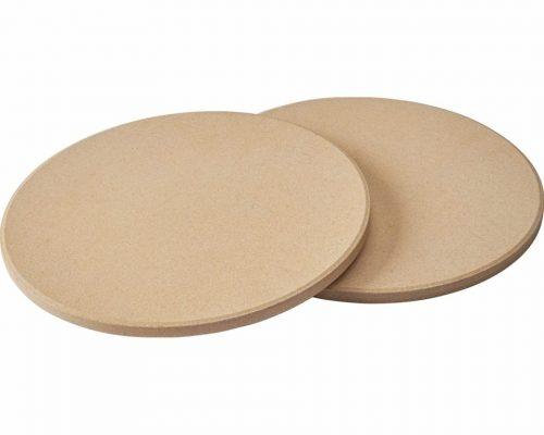 Набор из 2-х круглых камней для приготовления пиццы