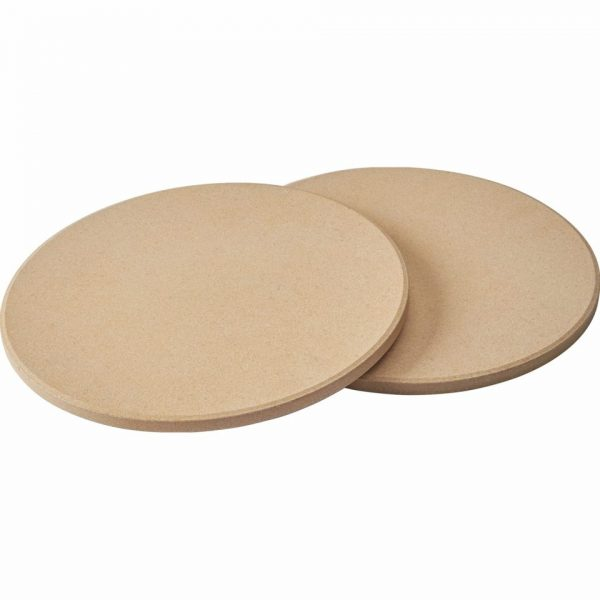 Набор из 2-х круглых камней для приготовления пиццы Наполеон