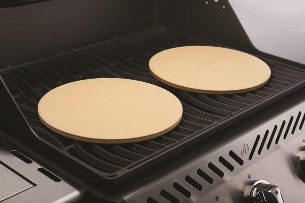 Набор из 2-х круглых камней для приготовления пиццы Наполеон использование