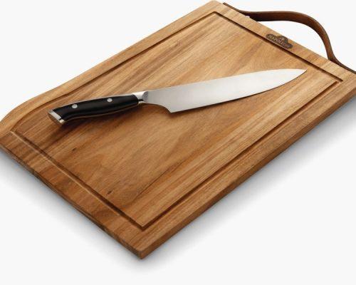 Разделочный набор Napoleon (2 предмета: доска+нож)