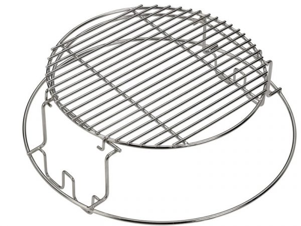Решетка стальная мультиуровневая для гриля L Большое Зеленое Яйцо