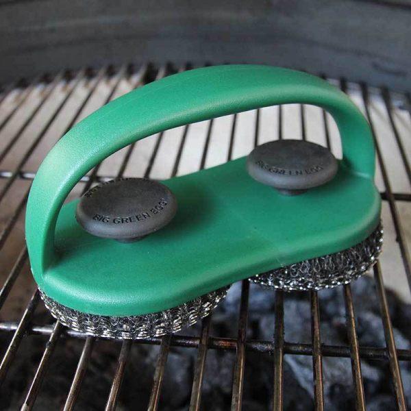 Щетка для чистки решетки двойная 119476 Большое Зеленое Яйцо 1