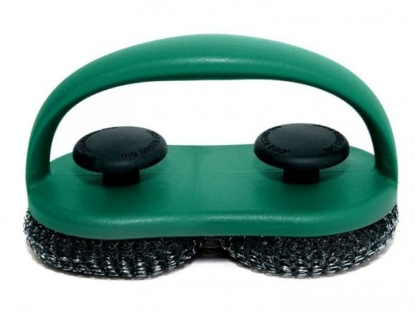 Щетка для чистки решетки двойная 119476 Большое Зеленое Яйцо