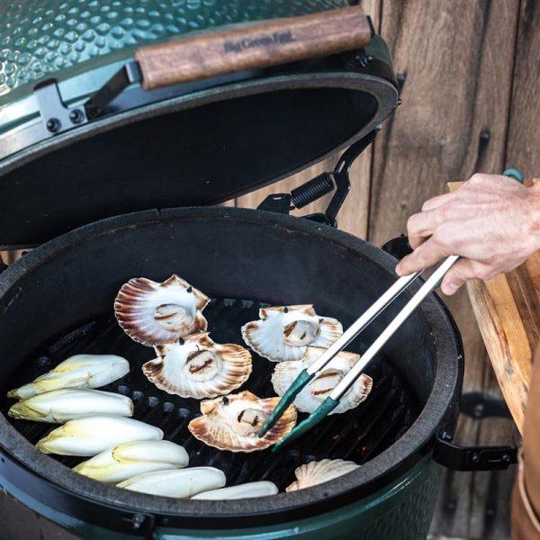 Щипцы BBQ для гриля, силиконовые, 40см 116864 Большое Зеленое Яйцо 1