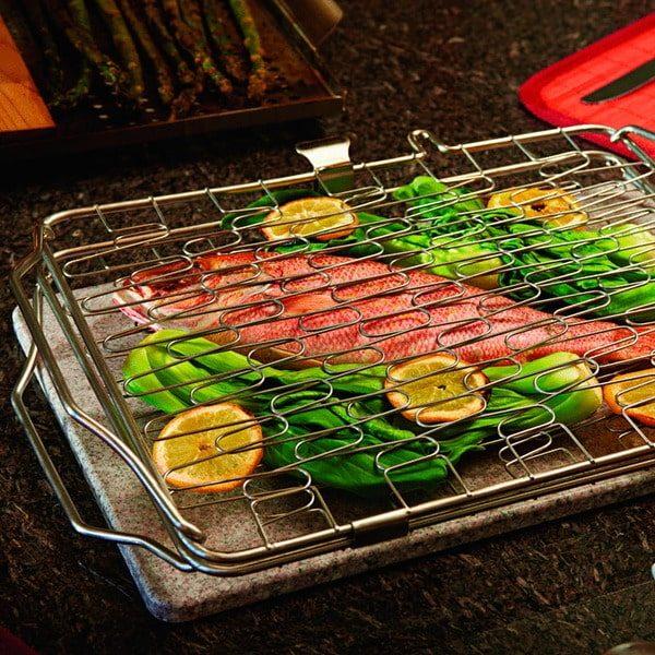 Складная сетка для обжарки рыбы и овощей 57012 Наполеон 1
