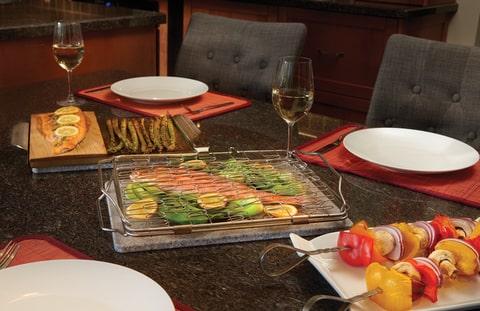Складная сетка для обжарки рыбы и овощей 57012 Наполеон 2