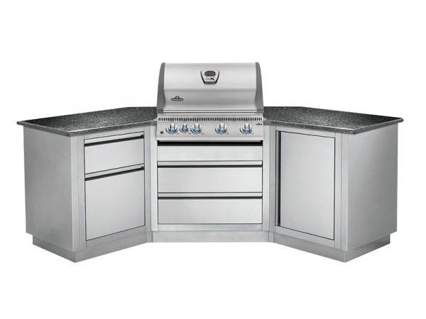 Встраиваемый газовый гриль Наполеон BILEX-485 кухня