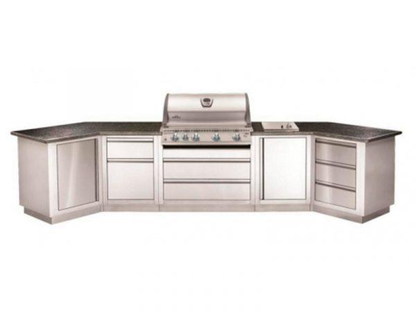 Встраиваемый газовый гриль Наполеон BILEX-605 кухня