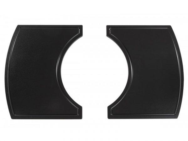 Боковые столешницы из композитного материала для Примо Овал 400 (XL) и 300 (FAMILY)