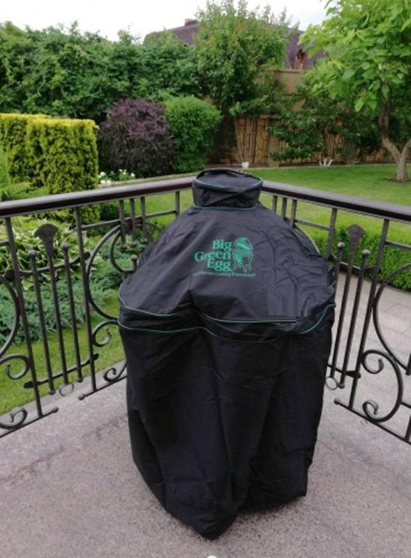 Чехол Премиум вентилируемый чёрный для гриля L на подставке Большое Зеленое Яйцо 1
