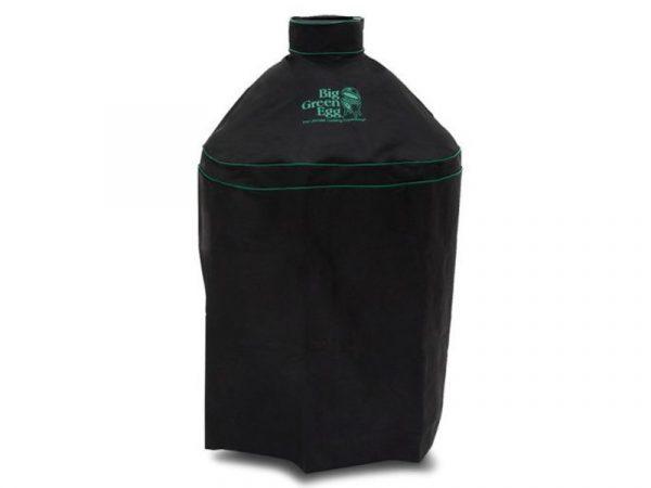 Чехол Премиум вентилируемый чёрный для гриля L на подставке Большое Зеленое Яйцо