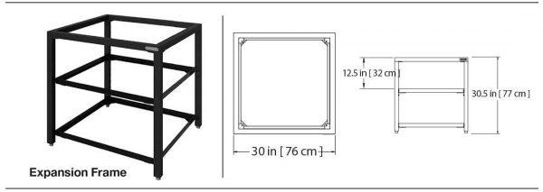 Дополнительный модуль Expension Frame Большое Зеленое Яйцо размеры