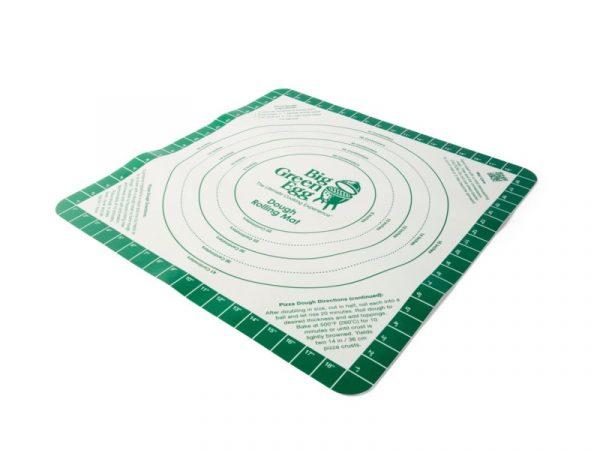 Коврик силиконовый гибкий с разметкой для раскатки теста для пиццы Большое Зеленое Яйцо