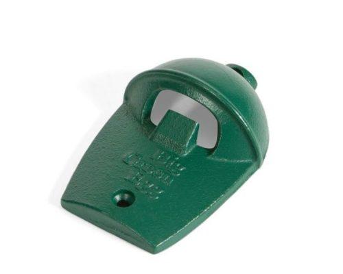 Открывалка для бутылок, зелёная чугунная настенная, в виде гриля Big Green Egg