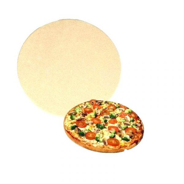 Пицца-камень натуральный без глазури 13 дюймов Примо фото 1