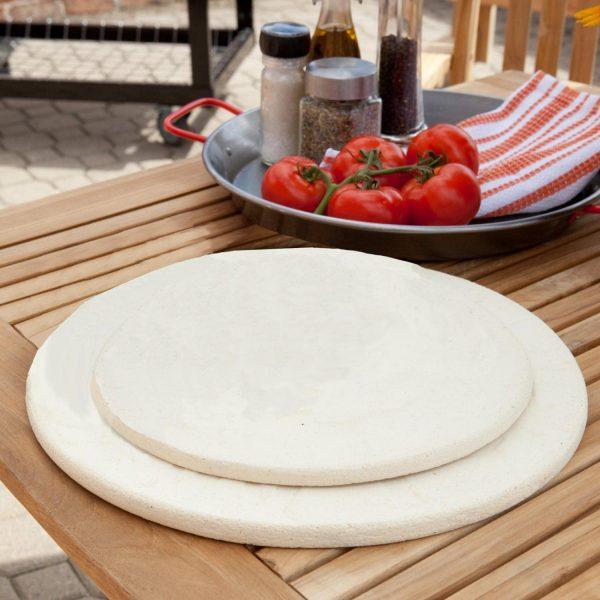 Пицца-камень натуральный без глазури 13 дюймов Примо фото 2