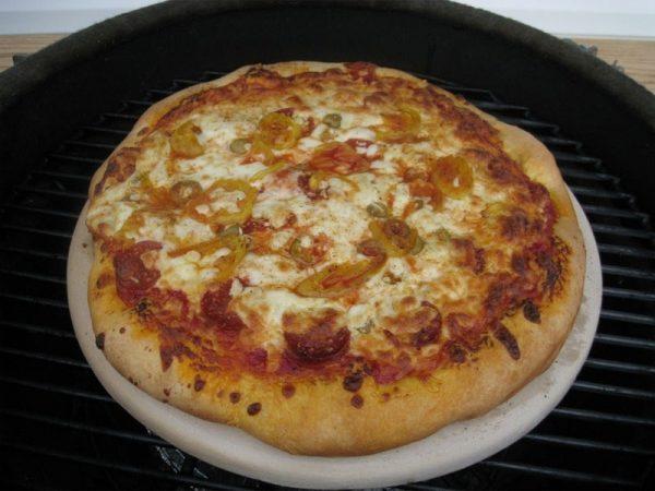 Пицца-камень натуральный без глазури 13 дюймов Примо фото