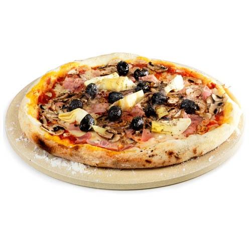 Пицца-камень натуральный без глазури 16 дюймов Примо фото 1