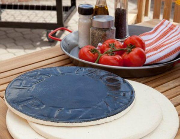 Пицца-камень с глазированным покрытием 13 дюймов Примо фото 1