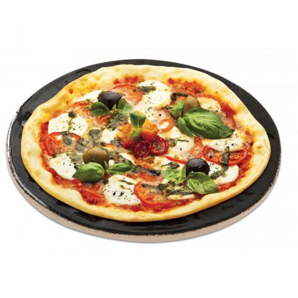 Пицца-камень с глазированным покрытием 16 дюймов Примо фото 1