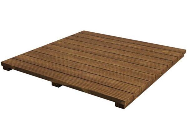 Полка деревянная из акации Биг Грин Эгг, модули