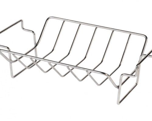 Решётка для рёбрышек, V-образная, двухсторонняя, стальная, 6 секций, для гриля XL/L