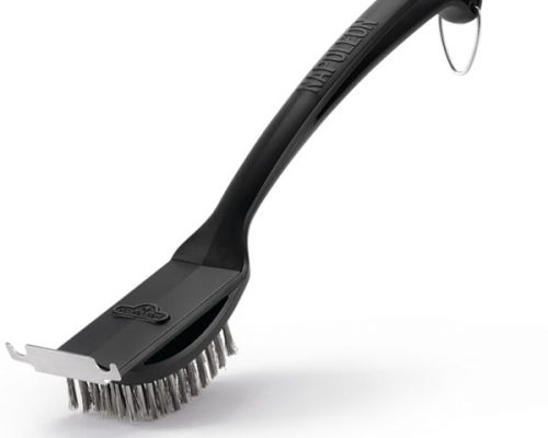Щетка для чистки решеток гриля с ворсом из нерж. стали