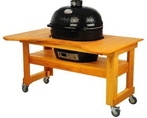 Стол из лиственницы для Primo Oval 400 (XL), Royal Grills
