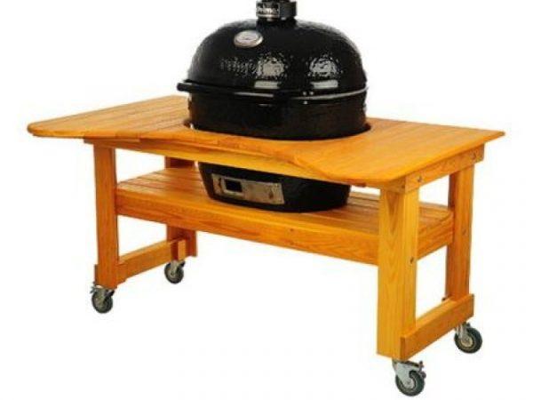 Стол из Лиственницы для Примо Овал 400 (XL), Royal Grills