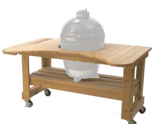 Стол из лиственницы для Primo Round Large