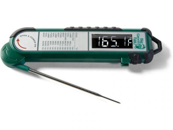 Термометр цифровой, щуп, зелёный корпус Большое Зеленое Яйцо