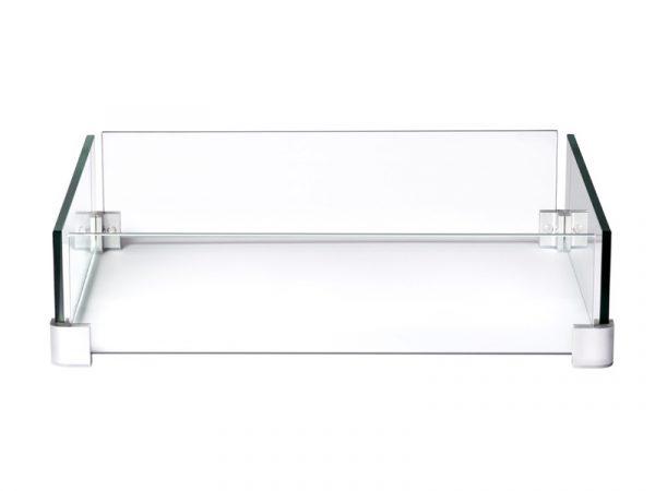 Ветрозащитный экран для квадратного стола-камина Наполеон