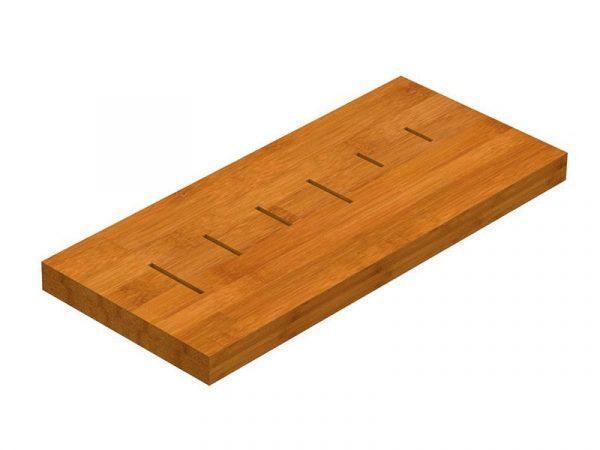 Модуль для ножей, бамбук (Р23013)