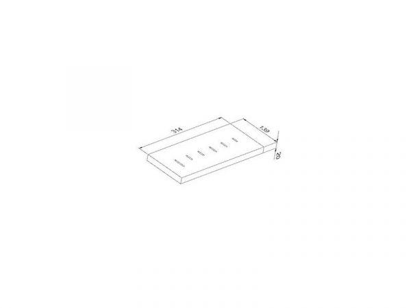 Модуль для ножей, бамбук (Р23013) фото 2