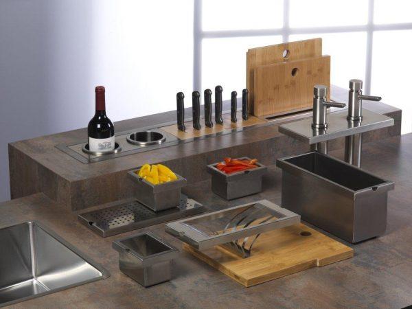 Модуль для ножей, бамбук (Р23013) фото 3