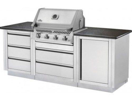 Модульная летняя кухня BBQGourmet 100 с грилем NAPOLEON BILEX-605