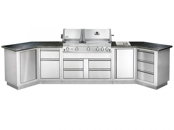 Модульная летняя кухня BBQGourmet 400