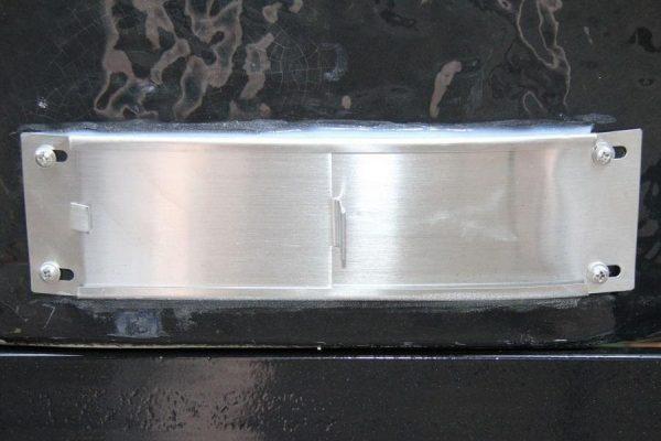 Нижняя заслонка из нержавеющей стали дляПримо Овал XL 1