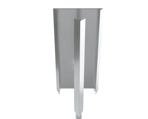 Соединительная панель перехода на угол 45°