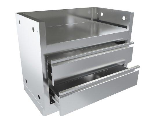 Тумба-основание для гриля BILEX-605 с 2-мя выдвижными ящиками