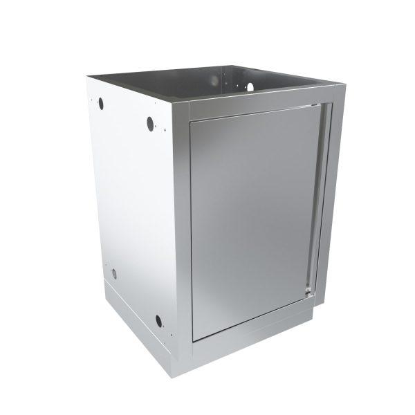 Модуль для гриль-кухни с полкой и дверцей