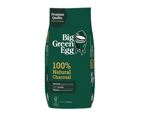 Уголь древесный органический крупнокусковой, пакет 9кг, Big Green Egg