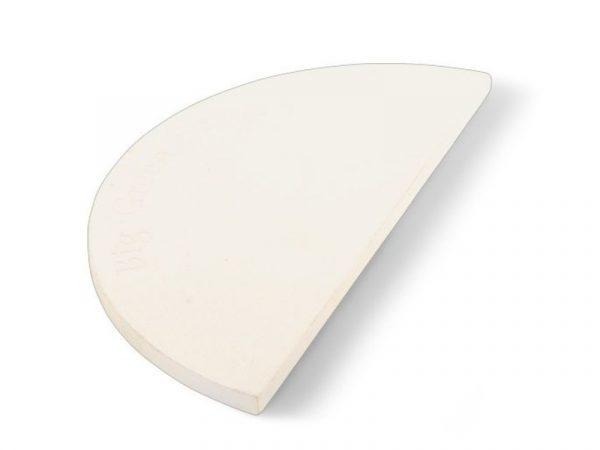 Камень керамический для выпекания полукруглый для гриля 2ХL Биг Грин Егг